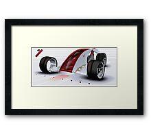 Nike Concept Car Framed Print