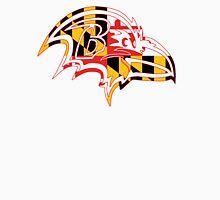 Maryland Flag - Raven Unisex T-Shirt