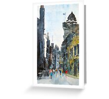 Top of the Royal Mile Greeting Card