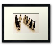 I don't belong here... Framed Print