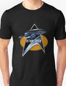 StarTrek Voyager Command Signia Chest T-Shirt