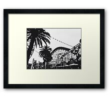 DCA In Black And White  Framed Print