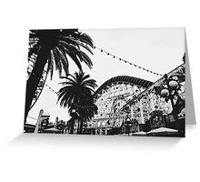 DCA In Black And White  Greeting Card