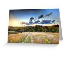 Heavenly Yass Valley Greeting Card