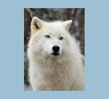 Arctic Wolf Close Up Unisex T-Shirt