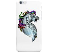 Ornate Color Horse iPhone Case/Skin