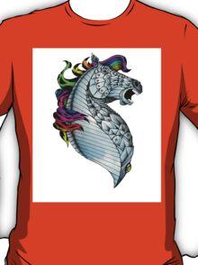 Ornate Color Horse T-Shirt