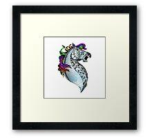 Ornate Color Horse Framed Print