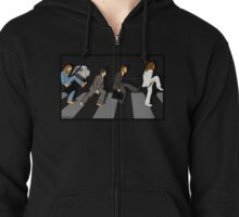silly beatlewalk Zipped Hoodie