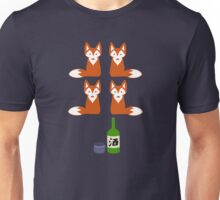 Four Fox Sake Unisex T-Shirt