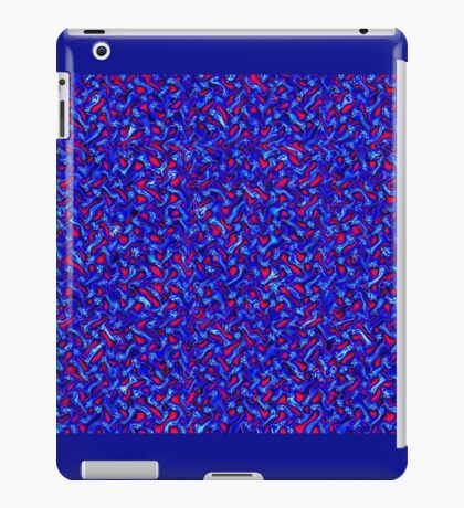 Melted Wire Pattern iPad Case/Skin