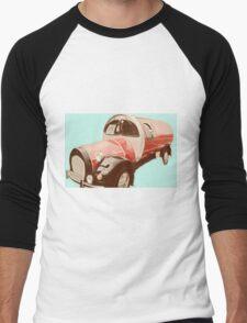 Car is on Coke!  Men's Baseball ¾ T-Shirt