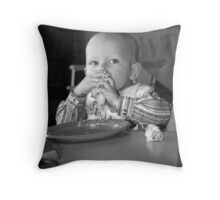 Having One's Cake and Eating It Throw Pillow