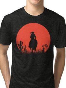 Lonesome Cowboy Tri-blend T-Shirt