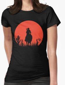 Lonesome Cowboy Womens Fitted T-Shirt