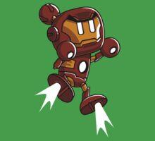 Super Iron Bomb Man One Piece - Short Sleeve