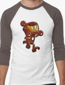 Super Iron Bomb Man Men's Baseball ¾ T-Shirt
