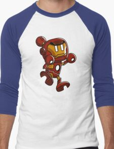 Super Iron Bomb Man Men's Baseball ¾ T-Shirt