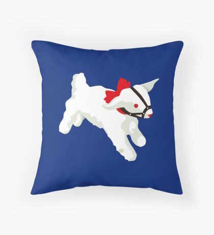 The silence of the lambs Throw Pillow
