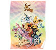 Eeveelution Pileup Poster