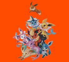 Eeveelution Pileup Kids Clothes