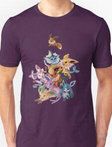 Eeveelution Pileup T-Shirt