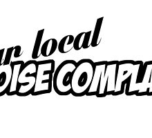 """""""You're Local Noise Complaint"""" - JDM Decal by harrison44"""