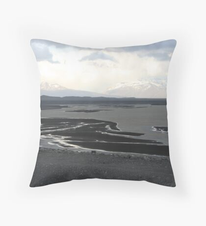 Layers of darkness Throw Pillow