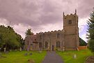 St Edmunds Church Walesby, notts. (The other side) by Ray Clarke