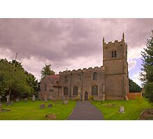 St Edmunds Church Walesby, notts. (The other side) Photographic Print