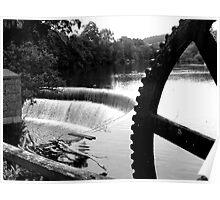 The River Derwent at Belper Poster