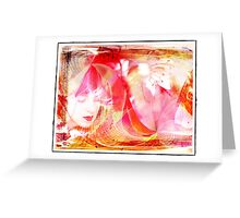 Feminine Thoughts Greeting Card