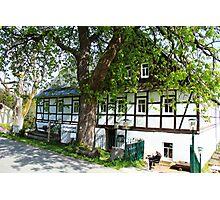 Mountain Inn in Saxony Photographic Print