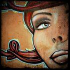 Graffiti Girl by Robert Baker