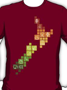 New Zealand Fun Map T-Shirt