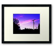 dassia sky Framed Print