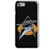 StarTrek Voyager Command Signia Chest 2 iPhone Case/Skin