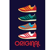 Original Kicks Photographic Print