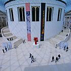 Art is all around - The Great Court of the London British Museum by DavidGutierrez