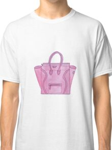 Pink Celine Classic T-Shirt