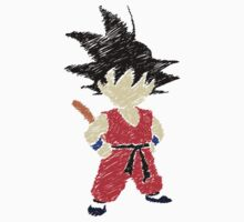 Little Saiyan Drawing Kids Clothes