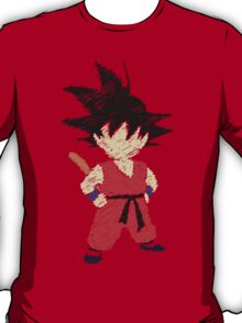 Little Saiyan Drawing T-Shirt