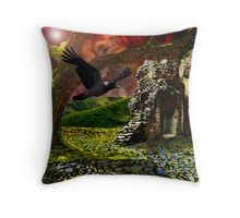 End of days.. The last tree. Throw Pillow