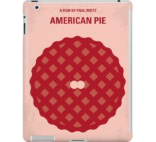 No262 My AMERICAN PIE minimal movie poster iPad Case/Skin