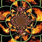 Krazy Kaleidoscope of Kollage by Debbie Robbins