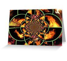 Krazy Kaleidoscope of Kollage Greeting Card