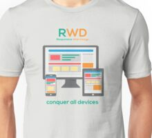 RWD - Conquer All Devices Unisex T-Shirt