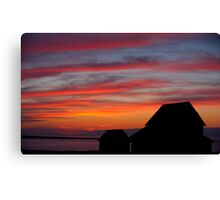 Fire In The Sky 2 Canvas Print