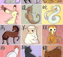 Fruits Basket Zodiac by Kacey Boxall