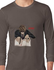 yagami light Long Sleeve T-Shirt